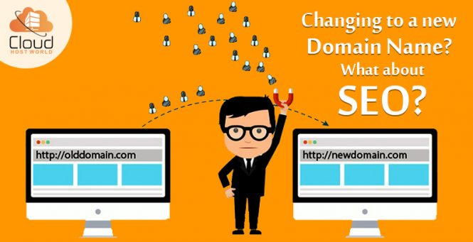 changing to new domain name