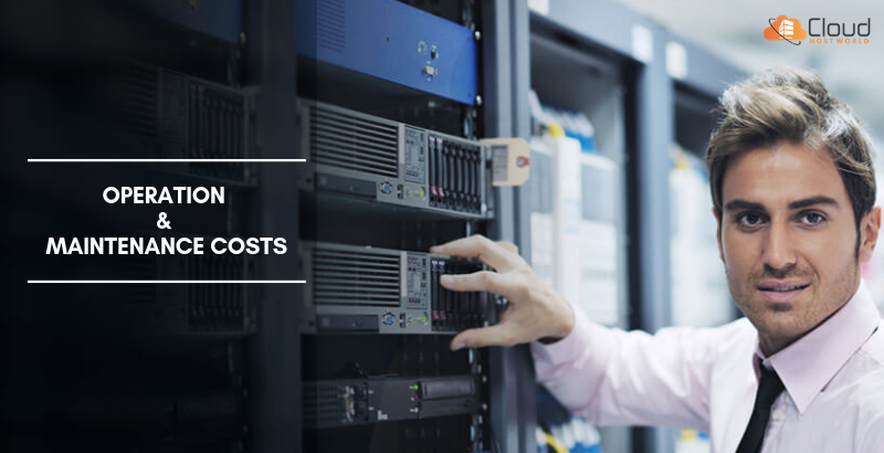 operation and maintenance costs-managed dedicated server
