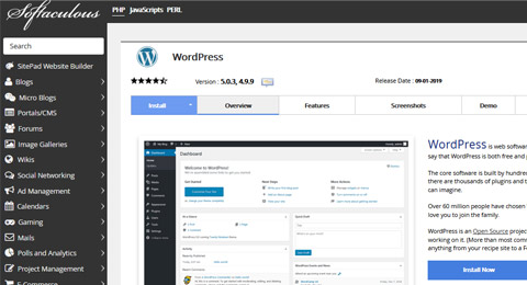 Wordpress Softacolous